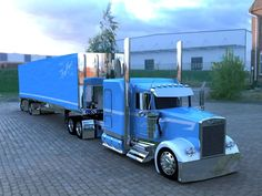 Kenworth is proven to take seriously the needs of truckers and does everything to improve the performance of the it's trucks. Whether one buys a fresh or used semi truck, the dog owner is assured Show Trucks, Big Rig Trucks, Custom Big Rigs, Custom Trucks, Automobile, Scania V8, Semi Trailer, Heavy Duty Trucks, Peterbilt Trucks