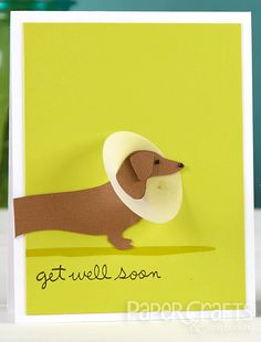 Katie Gehring - Paper Crafts & Scrapbooking April 2014: card making, get well, humorous