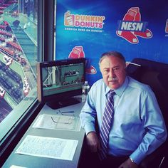 MISS YA , JERRY ---Jerry Remy is ready for work before 2012 Red Sox home opener at Fenway Park. - @NESN - NESN.com - NESN.com - NESN.com - NESN.com- #webstagram