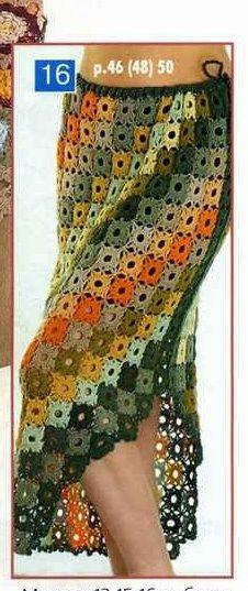 For instructions, click here:  http://ergahandmade.blogspot.gr/2015/06/crochet-stitches.html  Via:  http://www.liveinternet.ru/...