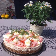 Räkcheesecake med recept från Jennysmatblogg!
