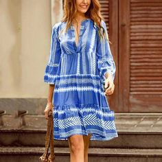 V-Neck Above Knee Hollow Casual Lace Dress Elegant Maxi Dress, Chic Dress, Lace Dress, Boho Chic, Plus Size Mini Dresses, Gypsy, Casual Dresses, Summer Dresses, Ladies Dresses