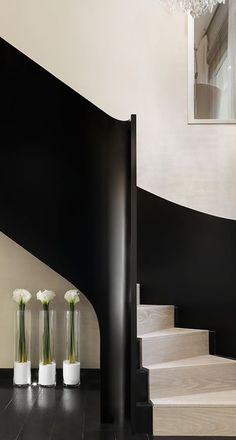 Interior Design For Private & Commercial Commissions. Kelly Hoppen guarantees interior that is impeccably tasteful & bespoke every time. Architecture Restaurant, Architecture Details, Interior Architecture, Interior Stairs, Interior And Exterior, Kelly Hoppen Interiors, Balustrades, Stair Handrail, Railings