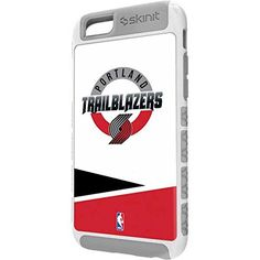 NBA Portland Trail Blazers iPhone 6 Cargo Case - Portland Trail Blazers Split Cargo Case For Your iPhone 6. Built To Last - Tough iPhone 6 Cargo Case Made With A Double Layer Hard Shell & Rubber Liner Protection. Offically Licensed Portland Trail Blazers Case Design. Industry Leading Vivid Color Vinyl Print Technology. Textured Sidewalls - For Added Comfort & Enhanced iPhone 6 Grip. Precision iPhone 6 Fit - Increasing Protection Without Sacrificing Function.