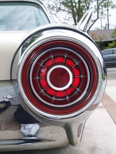 Love the jet taillights of the 1960's cars.  1963 Ford Thunderbird - T-Bird
