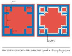 sarah m. dorsey designs: The Easy Way to Apply Greek Key Trim