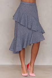 Resultado de imagem para double layer skirt