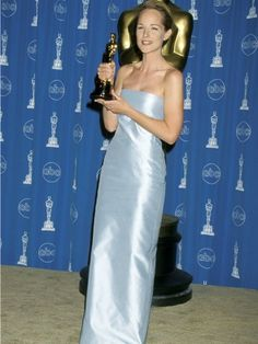 Best Actress Winners' Oscars Gowns - Oscars Dresses Throughout History - Helen Hunt,1998 , for- As good as it gets,Good Housekeeping