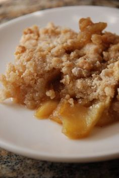 Another Apple Crisp - Lovin' From The Oven