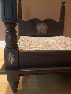 dog and cat bed made from an end table Diy Dog Bed, Diy Bed, Love Your Pet, Your Dog, Cat Furniture, Reuse Furniture, Pet Beds, Doggie Beds, Dog Toy Storage