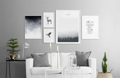 Create A Scandinavian Gallery Wall + 25% Off At Desenio - Gravity Home