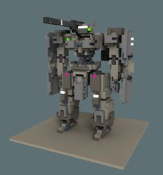 voxel mech - Google Search                                                                                                                                                     More