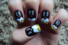 penguin fingers
