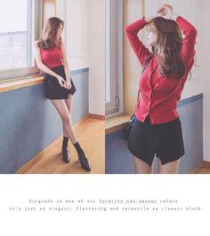Today's Hot Pick :交叠摆时尚纯色短裤 http://fashionstylep.com/SFSELFAA0011134/cherryspooncn/out 时尚青春的元素,绝对倍受青睐!款式设计非常潮,既有青春无敌的活泼感觉,也有都市时尚的利落气质~交叠摆对于简约的短裤而言,是一种别致而清新的点缀设计,同时带来裙装的优美感性! -短裤 -交叠摆 -纯色 -时尚青春系