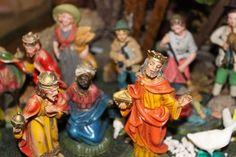 Rari Personaggi del presepio in legno o ceramica - altri articoli Padova