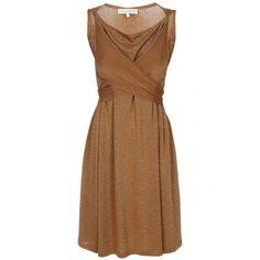 VANESSA BRUNO Draped neck dress,