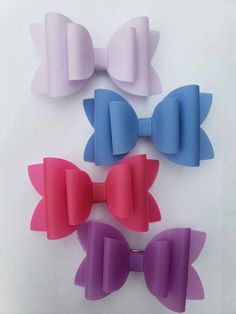 White /& Blue Glitter Bow Hair Accessory stretchy nylon headband or crocodile clip 4th of July Speckled Red