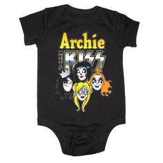 Check out Archie Meets KISS Onesie on @Merchbar.