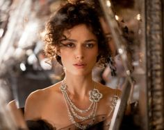 Keira Knightley looking beautiful (with the most divine jewels!) as Anna Karenina