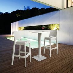 Have to have it. Compamia Riva Werzalit Bar Height Patio Dining Table - $299 @hayneedle