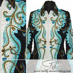 Sold Showjacket Custom Made, Waves, Artwork, Jackets, Shirts, Down Jackets, Work Of Art, Auguste Rodin Artwork, Artworks