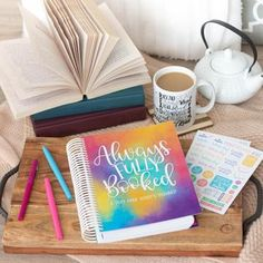 Always Fully Booked 2019 Planner Fully Booked, Planner Supplies, Day Planners, Any Book, I Love Books, Book Lovers, Hand Lettering, Novels, Feelings