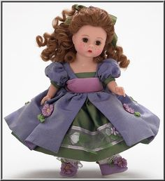 "Madame Alexander 8"" Lavender Sachet."