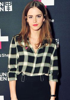 Emma Watson participates in a live Q&A with fans about gender equality to commemorate International Women's Day
