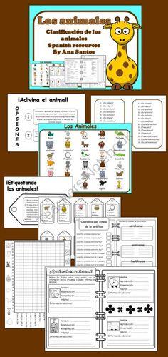 Los animales- Clasificación