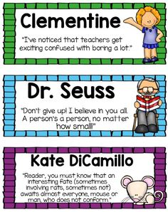 Seriously AMAZING! Classroom library labels. Big, small , and individual book labels! $