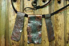 ...and another sweet copper neckpiece we made.