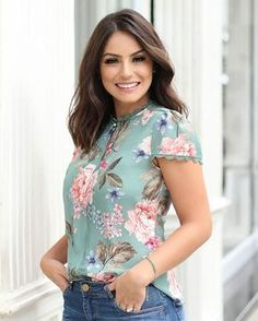 Eating the right food and keeping yourself fit help you to cope with stress, fight illness Blouse Styles, Blouse Designs, Stylish Kurtis Design, Outfit Trends, Dress Tutorials, Embroidery Fashion, Womens Fashion For Work, Work Attire, Cute Tops