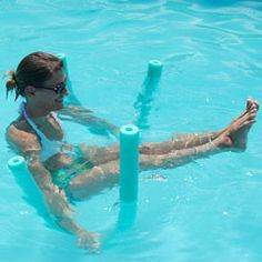 5 Water Yoga Poses – Noodling Around With Yoga In The Pool