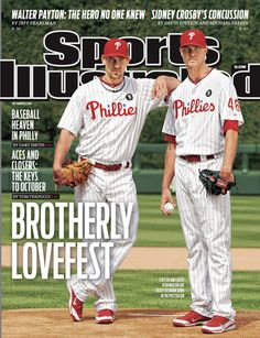 On the Cover: Cliff Lee, Baseball, Philadelphia Phillies  Photographed by: Al Tielemans / SI