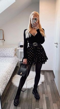 Casual Bar Outfits, Classy Outfits, Pretty Outfits, Stylish Outfits, Cute Outfits, Winter Fashion Outfits, Cute Fashion, Look Fashion, Fall Outfits
