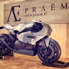 Praëm AE SP3 #motorcycles #caferacer #motos | caferacerpasion.com