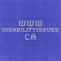 www.disabilityissues.ca