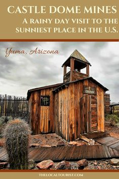 Castle Dome Mines Museum & Ghost Town takes you back to the longest-running mines in Arizona. Family Vacation Destinations, Vacation Spots, Travel Destinations, Family Vacations, Arizona Travel, Arizona Usa, Beautiful Places To Visit, Cool Places To Visit, Travel Usa