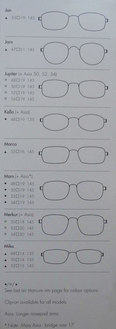 Air Titanium Rim Glasses Catalog, by Lindberg