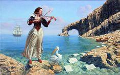 'Songs Of The Island Of Sirens-2', Michael Cheval (born Mikhail Khokhlachev, 1966, Kotelnikovo, USSR)