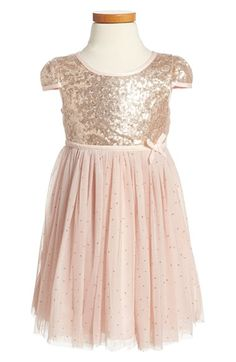 13458140a6de Dorissa 'Janelle' Sequin Tulle Dress (Toddler Girls & Little Girls)  available