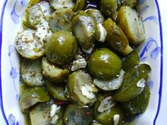 Receita Prato Principal : Salada conserva de jiló de Chery Blossom