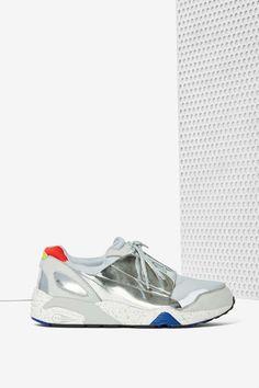 Puma x McQ Lace Disc Textured Sneaker