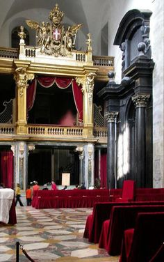 Capella della Sacra Sindone - The Chapel of Holy Shroud- Duomo, (where the Shroud rests) Torino, Italy