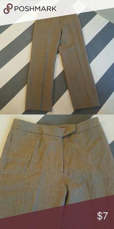 David N 6 brown herringbone pants 100% wool lined worn once no rips tears or stains Pants Trousers