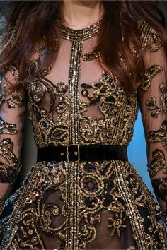 Tweed Rose: Be first to see: Elie Saab FW18 Haute Couture