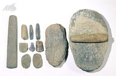 [Prehistory-Neolithic Age] Galdol (stone pestle) and galpan (grinding stone)