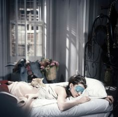 Breakfast at Tiffany's. Fantastic classic movie!! One of my favs.