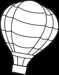 hot air balloon coloring pages - Free Large Images Air Ballon, Hot Air Balloon, Coloring Pages To Print, Coloring Pages For Kids, Coloring Book, Print Pictures, Colorful Pictures, Dr Seuss Crafts, Math Crafts