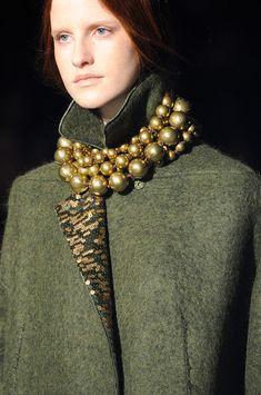 Alberta Ferretti at Milan Fashion Week Fall 2014 - StyleBistro